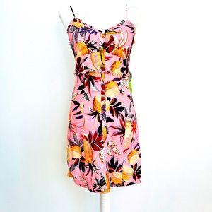 FARM RIO Pink Pinneaple Mini Dress pink Multi